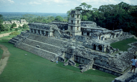 Chiapas Mayan ruins of Palenque