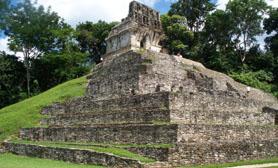 Chiapas Mexico ruins